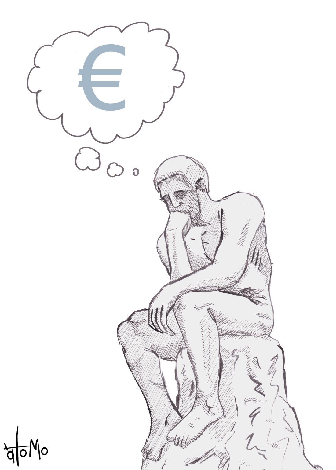 rodin-pensador-euro-cartoon